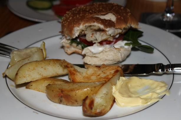 how to make fresh fish burgers