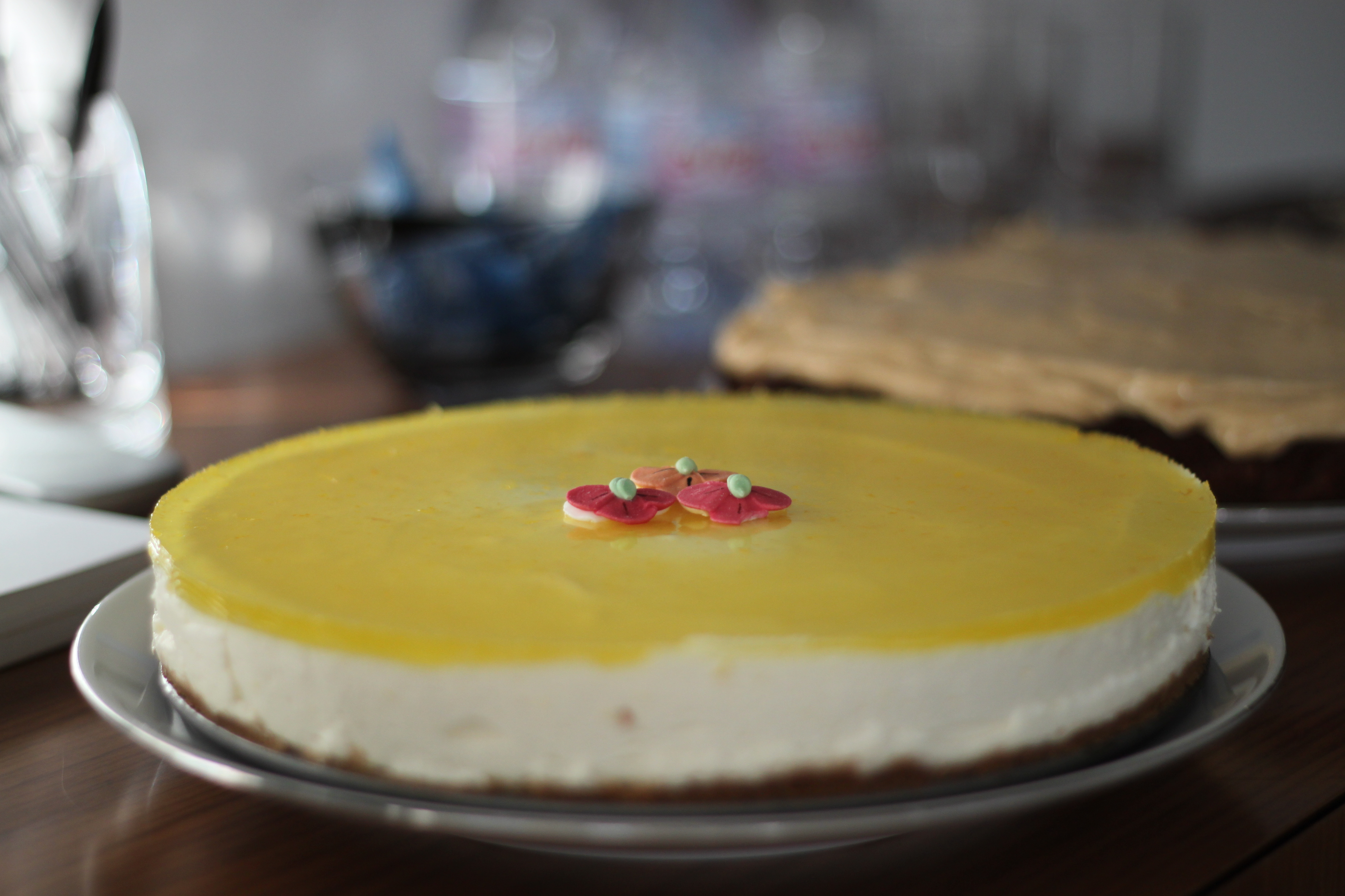 Philadelphia torte lemon lime