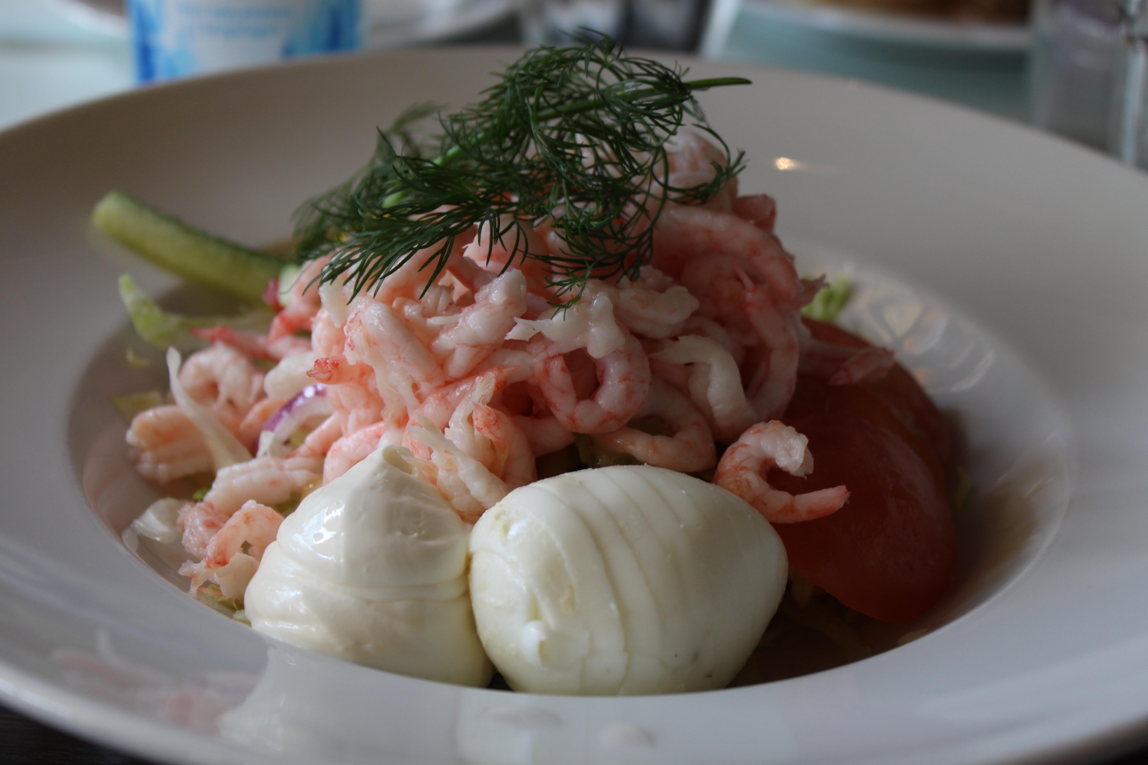 lunch fnask stor nära Malmö